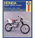 Honda XR250L, XR250R and XR400R