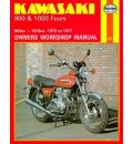 Kawasaki 900 and 1000 1972-77 Owner's Workshop Manual