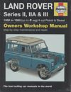 Land Rover Series II,IIA,III repair manual 1958-1985