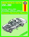 Mercedes Benz 250 and 280 W123 Series - Haynes - Workshop manual