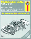 Mercedes Benz 350 and 450 - Haynes - NEW