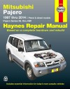 Mitsubishi Pajero NL-NW repair manual 1997-2014 Haynes