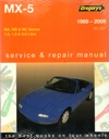 Mazda MX 5 1989 2009 Gregorys Workshop Service Repair Manual