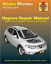 Nissan Murano Service and Repair Manual 2003-2014
