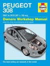 Peugeot 308 Petrol & Diesel 2007 - 2012 Haynes Owners Service and Repair Manual