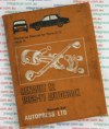 Renault 12 repair manual 1969-1971