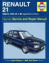 Renault 21 - Haynes Workshop repair manual