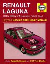 Renault Laguna Workshop manual 1994-2000 Haynes - NEW