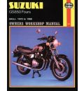 Suzuki GS850 Fours 1978-88 Owner's Workshop Manual