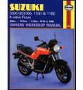 Suzuki GSX/GS1000, 1100 and 1150 4-valve Fours Owners Workshop Manual