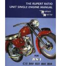 The Rupert Ratio Unit Single Engine Manual for BSA C15, B40, B25, B44, B50