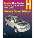 Toyota Highlander & Lexus RX-330 Automotive Repair Manual