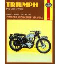 Triumph Pre-unit Construction Twins Owner's Workshop Manual
