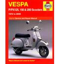 Vespa P/PX 125, 150 and 200 Service and Repair Manual