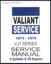 Chrysler Valiant 1973 1975 VJ Series Service Manual  Book 1
