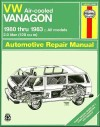 Volkswagen Vanagon Transporter Air cooled 4 cyl 1980-1983