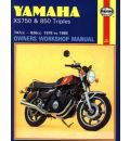 Yamaha XS750 and 850 3-cylinder Models Owner's Workshop Manual