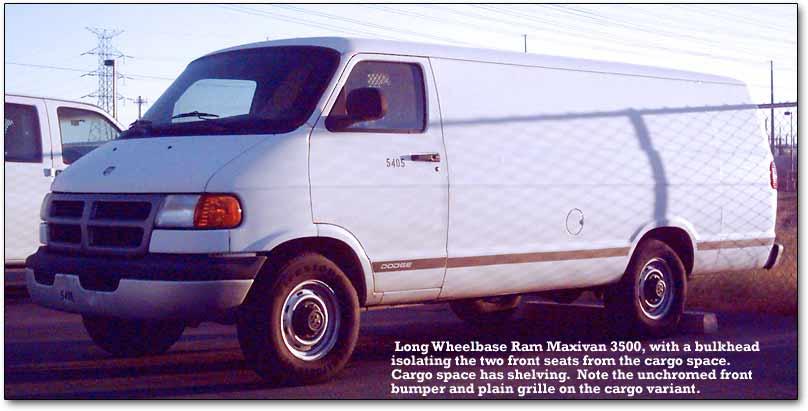 Chrysler Full Size Vans (1989-98)