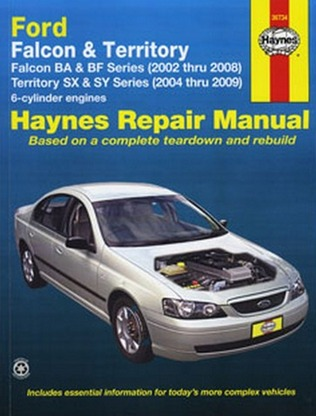 ford falcon fairlane ba bf series repair manual ellery. Black Bedroom Furniture Sets. Home Design Ideas