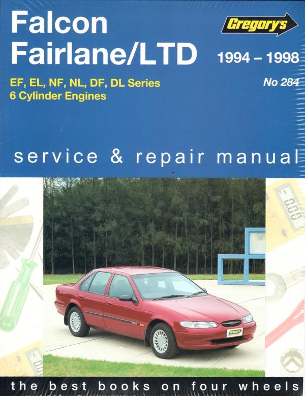 ford falcon fairlane ef el repair manual 1994 1998 new sagin rh workshoprepairmanual com au 1986 Ford Falcon ford falcon 1996 manual