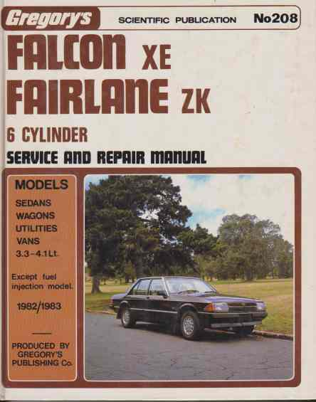 ford falcon workshop manual free download
