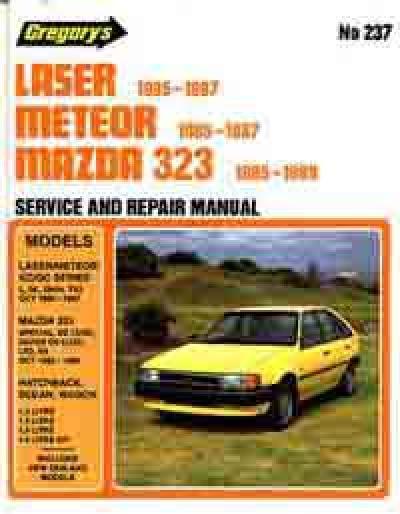 Ford Laser Mazda 323 Fwd 1981 1989 Haynes Service Repair