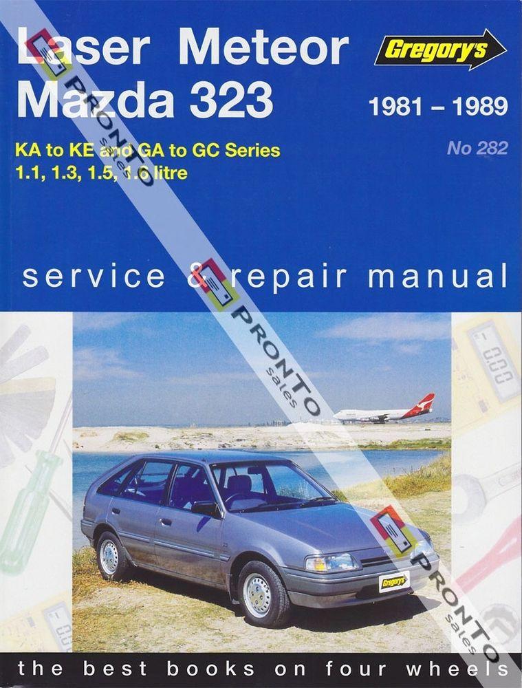 Ford Laser Meteor Mazda 323 1981 1989 Gregorys Service