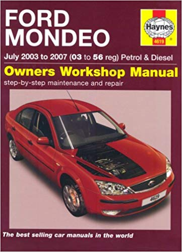ford mondeo diesel   haynes service repair manual sagin workshop car manualsrepair