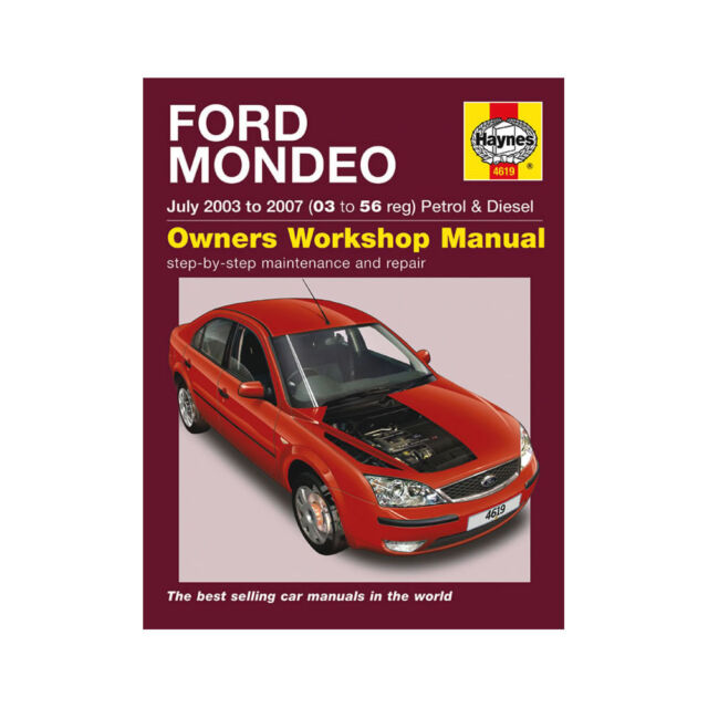 ford mondeo petrol   haynes service repair manual uk sagin workshop car manualsrepair
