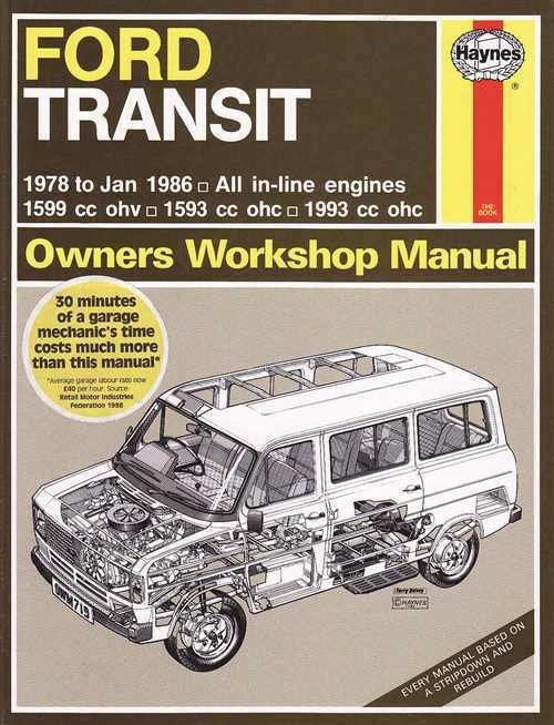 ford transit petrol mk2 1978 1986 haynes service repair manual rh workshoprepairmanual com au