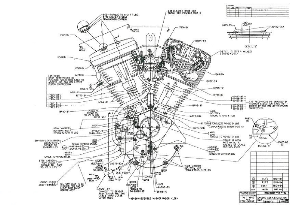 Harley Davidson Evolution Engine Diagram Manual Guide