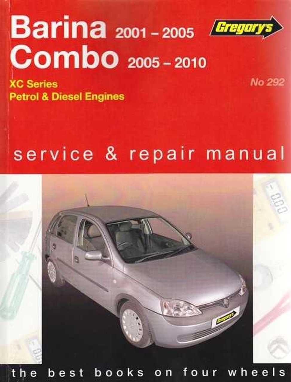 holden combo workshop manual pdf