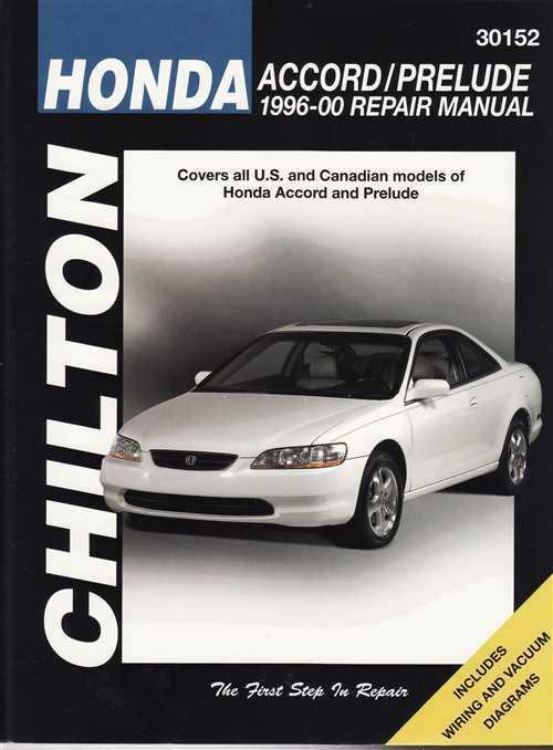 Honda Prelude Cvcc 1979 1989 Haynes Service Repair Manual
