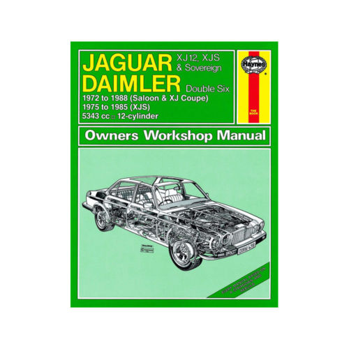 Jaguar Xj12 Xj S Xjs Sovereign Daimler Double Six 1972 1988 Uk
