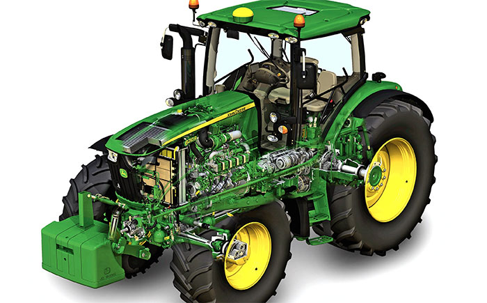 John Deere Farm Tractor Owners Service Amp Repair Manual