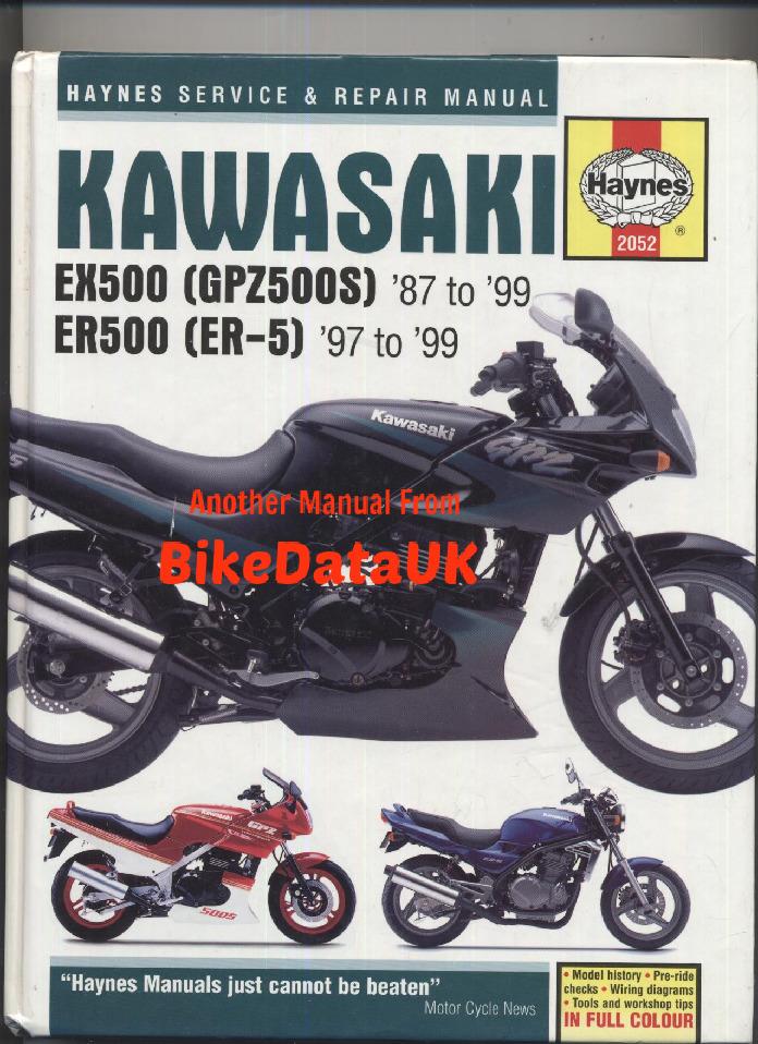 kawasaki  gpzs  er er  service  repair manual sagin workshop car manuals