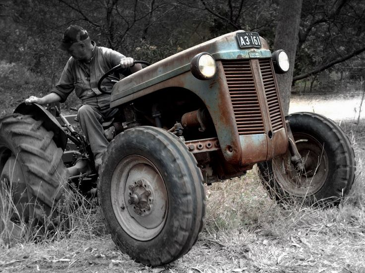 Massey Ferguson TE20 - FE35 Tractors Owners Service and Repair