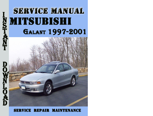 1989 1992 mitsubishi galant factory service manuals 2 volume set