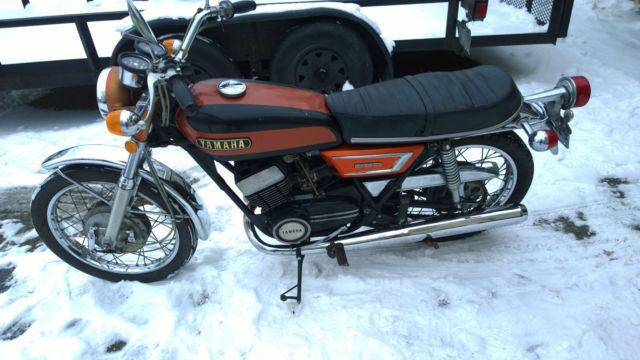 Yamaha R Twin Rd R C Motorcycle Original Survivor