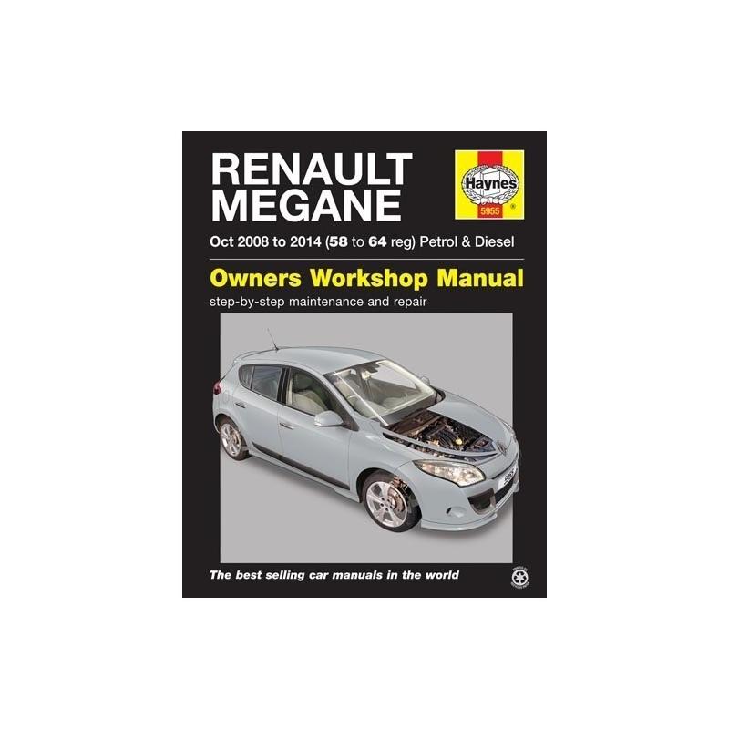 Renault Megane Petrol Diesel 2002-2008 Haynes Service Repair Manual