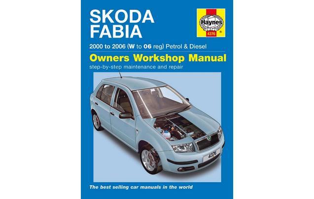 Skoda fabia 2000 owners manual.