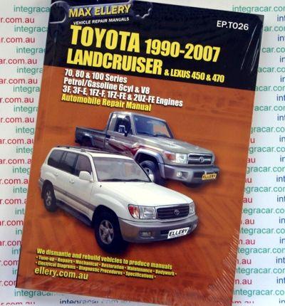 toyota landcruiser 1990 2007 diesel 70 80 100 series