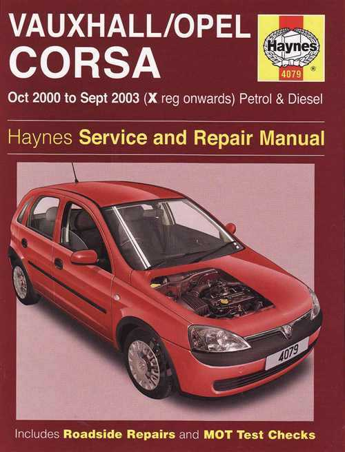 Vauxhall Opal Corsa Holden Barina 2000 2003 Haynes Service And Repair Manual Uk