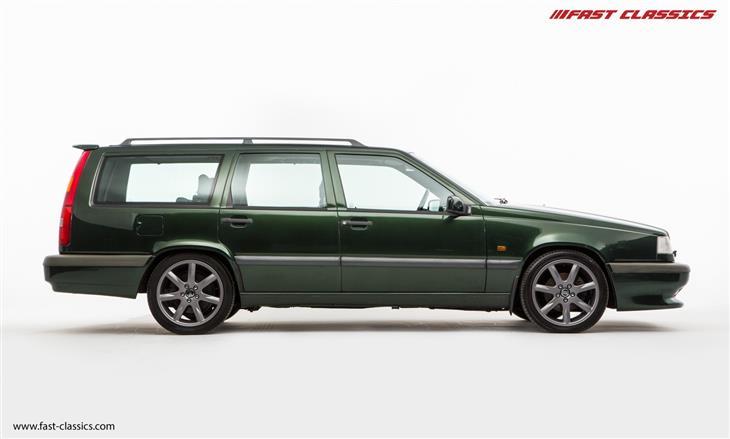 Volvo S on 1996 Volvo 850 Green