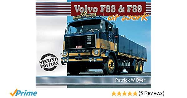 Volvo F88 and F89 at Work - sagin workshop car manuals,repair books