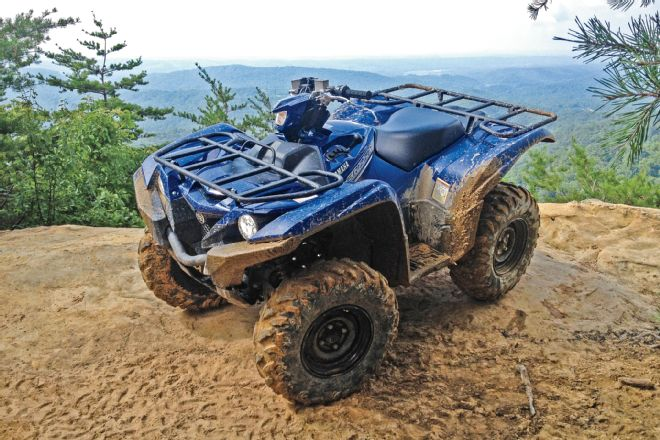 Yamaha kodiak and grizzly atvs sagin workshop car for Yamaha kodiak 700 top speed